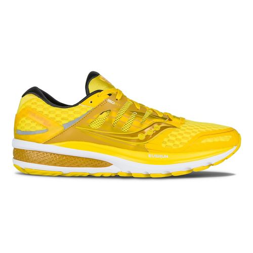 Mens Saucony Triumph ISO 2 Running Shoe - Lemon 10.5