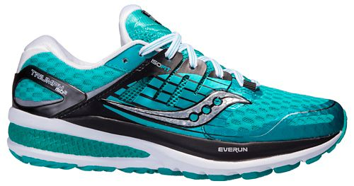 Womens Saucony Triumph ISO 2 Running Shoe - Teal 6