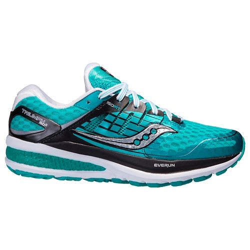 Womens Saucony Triumph ISO 2 Running Shoe - Teal 7