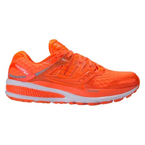 Womens Saucony Triumph ISO 2 Running Shoe - Orange Pop 10