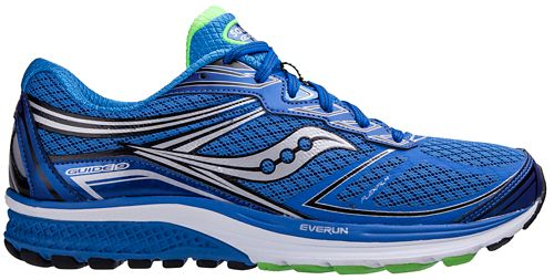 Mens Saucony Guide 9 Running Shoe - Blue 8.5