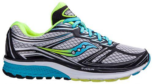 Womens Saucony Guide 9 Running Shoe - Grey/Blue 6