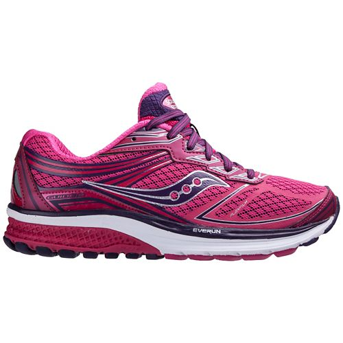 Womens Saucony Guide 9 Running Shoe - Pink 5.5