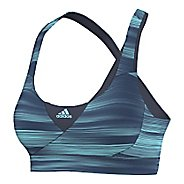 Womens adidas Supernova Racer Q3 Graphic Sports Bras