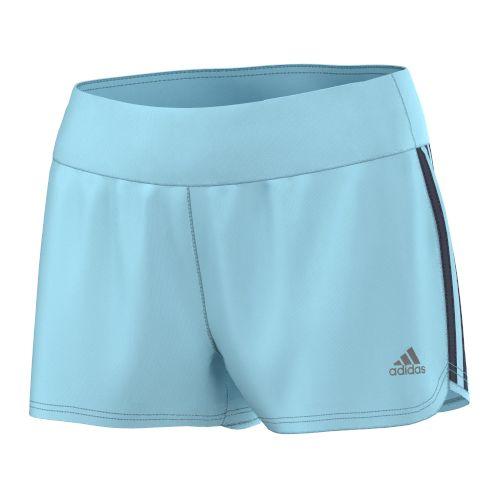 Womens adidas Mia Unlined Shorts - Blue/Midnight Grey S