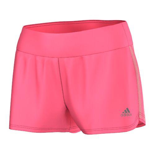 Womens adidas Mia Unlined Shorts - Pink/Super Pop XS