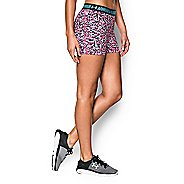 Womens Under Armour Heatgear Armour Shorty (Printed) Compression & Fitted Shorts
