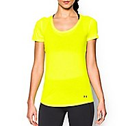 Womens Under Armour Streaker Short Sleeve Technical Tops