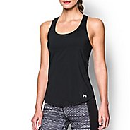 Womens Under Armour Fly By Run Sleeveless & Tank Technical Tops - Black L