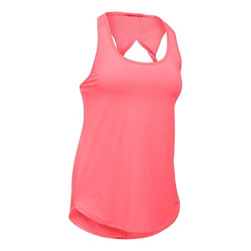 Womens Under Armour Fly By Run Sleeveless & Tank Technical Tops - Brilliance XL