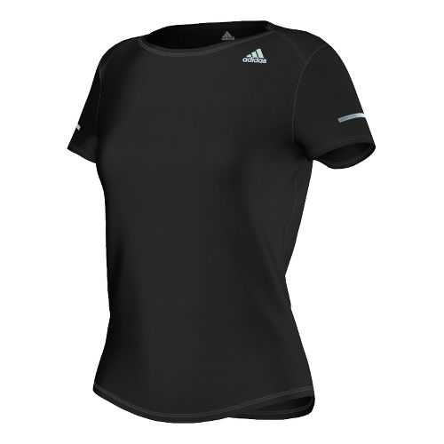Womens adidas Sequencials Money Tee Short Sleeve Technical Tops - Black S
