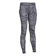 Womens Under Armour Favorite Legging-AllOver Mini Slash Full Length Tights