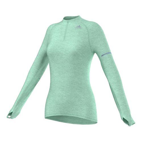 Women's Adidas�Sequencials Money Half Zip Long Sleeve
