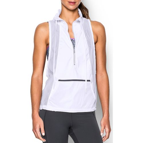 Womens Under Armour Roga Vests - White S