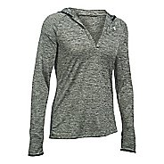 Womens Under Armour Twist Tech Hoody Long Sleeve No Zip Technical Tops
