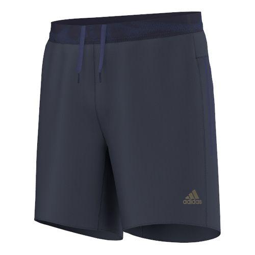 Mens adidas adiZero7 Unlined Shorts - Midnight Grey XL