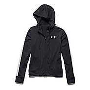Womens Under Armour Challenge Knit Warm Up Hooded Jackets