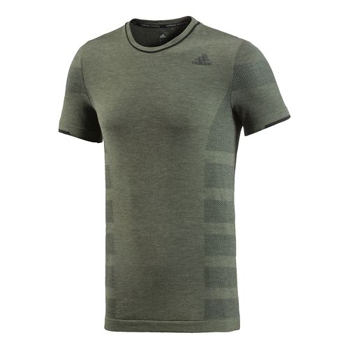 Men's adidas�Adistar Wool Primeknit Short Sleeve Tee