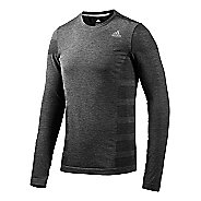 Mens adidas Adistar Wool Primeknit Tee Long Sleeve No Zip Technical Tops