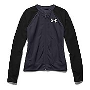 Womens Under Armour Fanatical Woven Warm Up Hooded Jackets