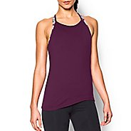 Womens Under Armour Asym Sleeveless & Tank Technical Tops