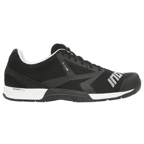 Mens Inov-8 F-Lite 250 Cross Training Shoe - Black/White 8.5