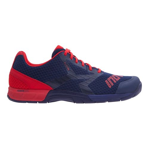 Mens Inov-8 F-Lite 250 Cross Training Shoe - Navy/Red 10.5