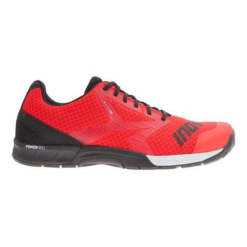 Mens Inov-8 F-Lite 250 Cross Training Shoe - Red/Black 10.5