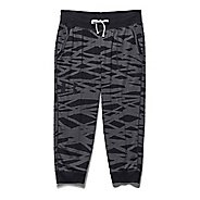 Womens Under Armour Charged Cotton Triblend Printed Capri Pants