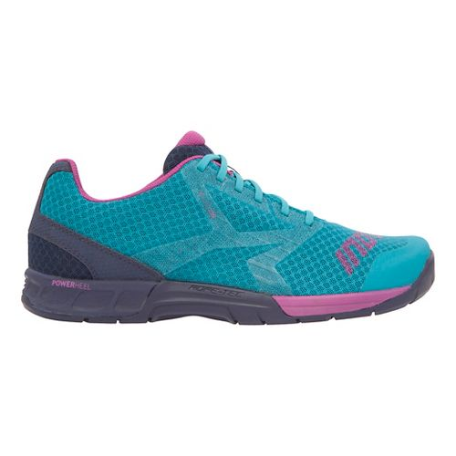 Womens Inov-8 F-Lite 250 Cross Training Shoe - Teal/Navy/Purple 5.5