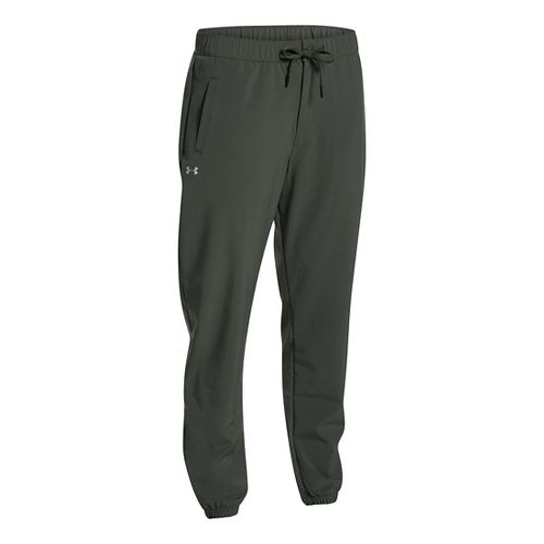 Women Under Armour Easy Studio Pants - Combat Green M