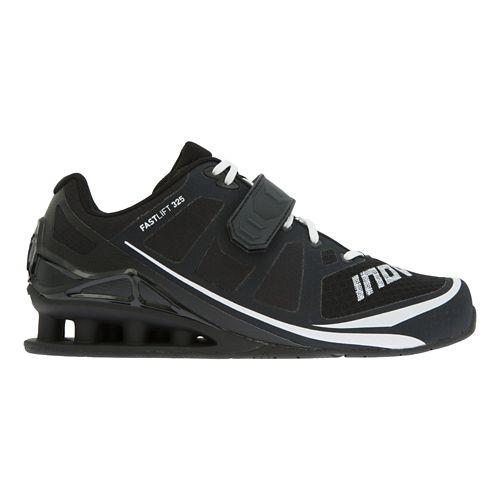 Mens Inov-8 FastLift 325 Cross Training Shoe - Black/White 10.5