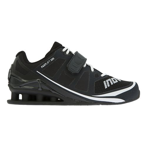 Mens Inov-8 FastLift 325 Cross Training Shoe - Black/White 11.5