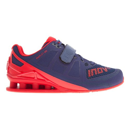 Mens Inov-8 FastLift 325 Cross Training Shoe - Navy/Red 11.5