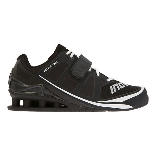 Womens Inov-8 FastLift 325 Cross Training Shoe - Black/White 10.5