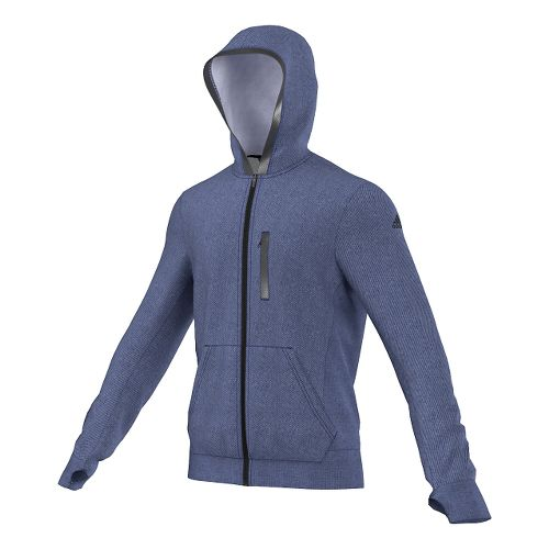 Mens adidas Supernova Beyond The Run Hoodie Outerwear Jackets - Midnight Indigo S