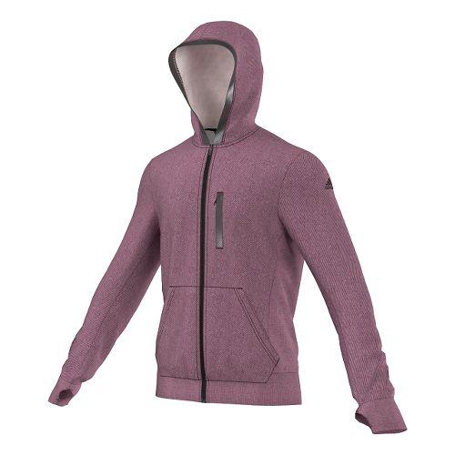 Mens adidas Supernova Beyond The Run Hoodie Outerwear Jackets - Maroon S