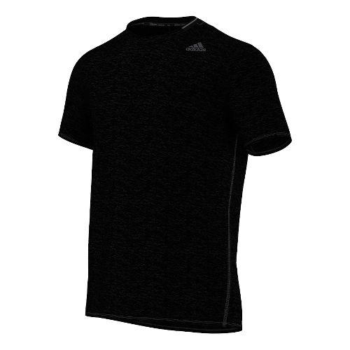 Mens Adidas Supernova Tee Short Sleeve Technical Tops - Black M