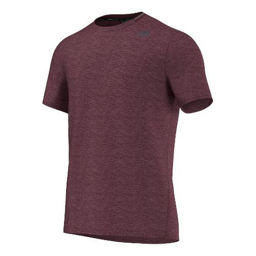Mens Adidas Supernova Tee Short Sleeve Technical Tops - Maroon L