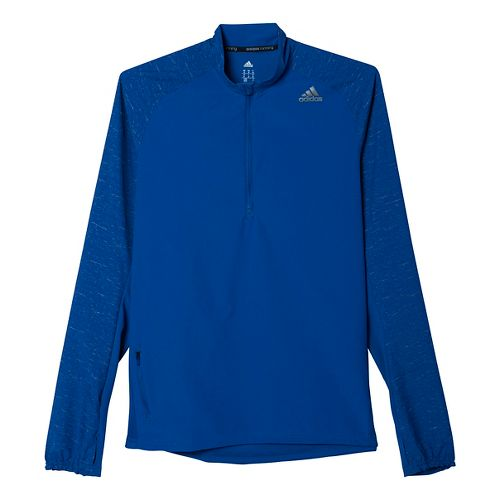 Men's adidas�Supernova Storm Half Zip Long Sleeve