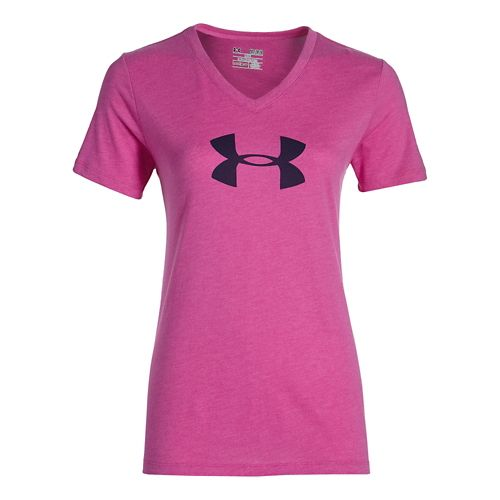 Women's Under Armour�Charged Cotton Tri-Blend Logo V-Neck
