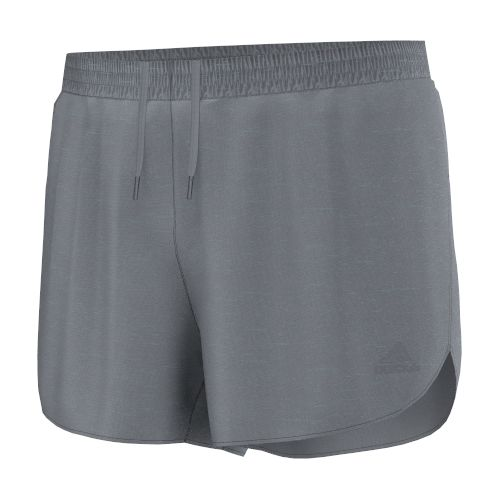 Mens adidas Supernova Split Lined Shorts - Grey S