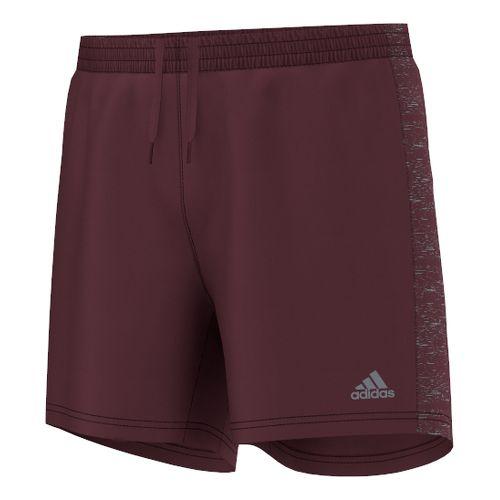Mens adidas Supernova 5 Unlined Shorts - Maroon M
