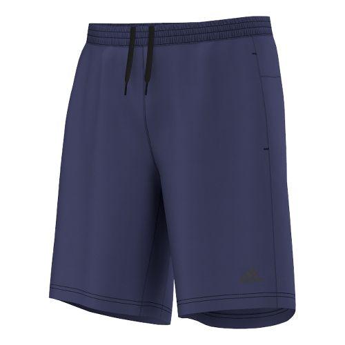 Mens adidas AKTIV 9 Unlined Shorts - Dark Blue S