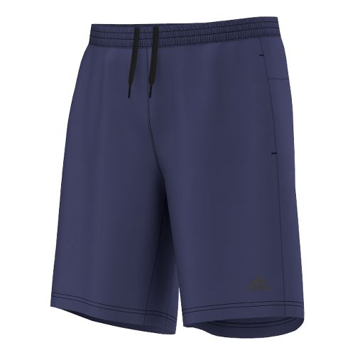 Mens adidas AKTIV 9 Unlined Shorts - Dark Blue XL