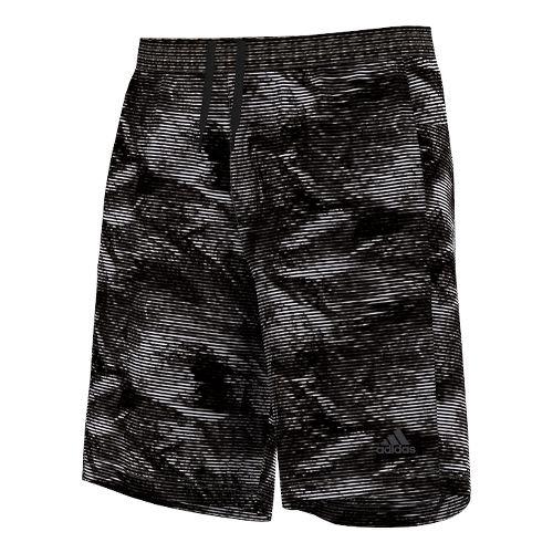 AKTIV Energy Print 9 Unlined Shorts - Black/White XL