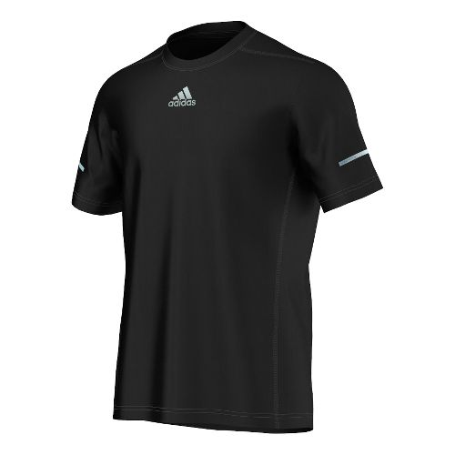 Mens adidas Sequencials Money Tee Short Sleeve Technical Tops - Black S