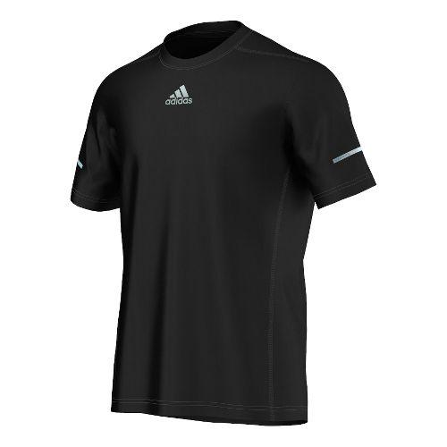 Mens adidas Sequencials Money Tee Short Sleeve Technical Tops - Black XL