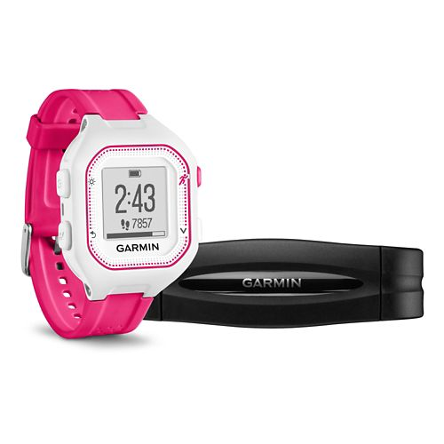 Garmin Forerunner 25 GPS with HRM Monitors - Pink S