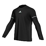 Mens adidas Sequencials Money Tee Long Sleeve No Zip Technical Tops